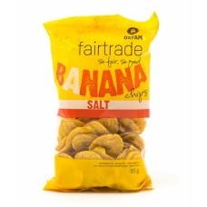 Banaanchips zout - 85 g