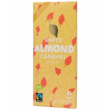 BIO Witte chocolade almond caramel - 100 g