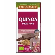 BIO Fondantchocolade met quinoa - 100 g