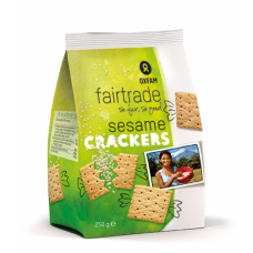 Crackers met sesam